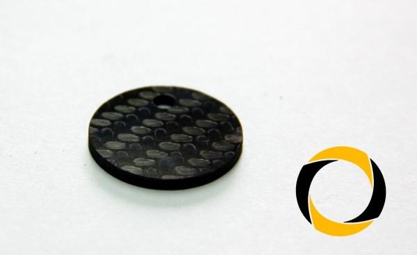 Einkaufswagenchip aus Cfk (Carbon)
